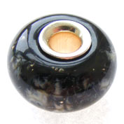 My first silver cored bead