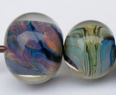 Stormed Pandora glass bead