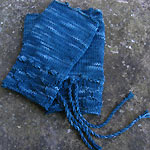 To the lighthouse fingerless mittens