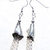 Karen Hill tribe sterling silver earrings